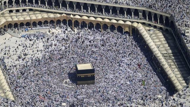 Trotz der Menschenmassen blieb die Pilgerfahrt nach Mekka von grösseren Zwischenfällen verschont