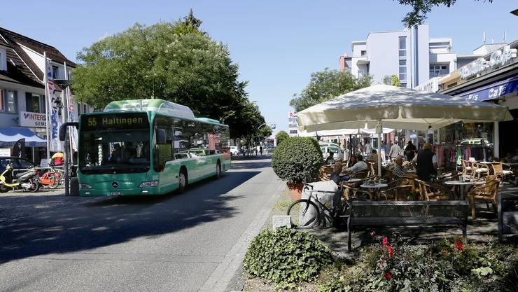 Die erweiterte Verlängerung der Tramlinie 8 in Weil am Rhein erhält von Baden-Württemberg keine Zustimmung.