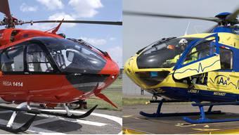 Rega und AAA – zwei Rettungsunternehmen im Konkurrenzkampf.
