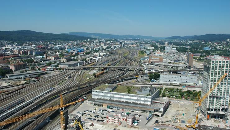 """Die Baustelle der """"Greater Zurich Area"""""""