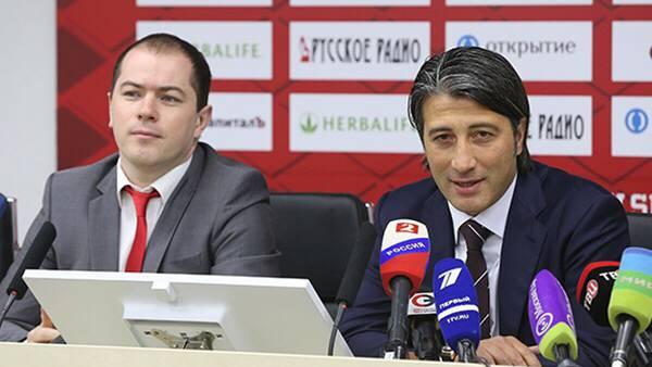 Murat Yakin in Moskau