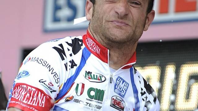 Michele Scarponi erneut in Feierlaune