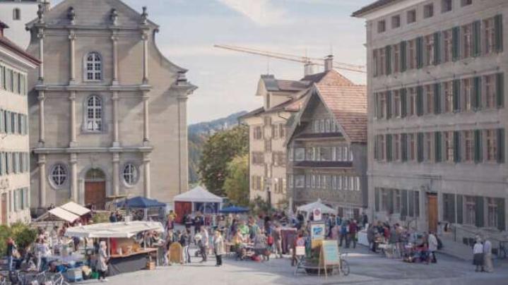 Originelle und nachhaltige Produkte werden am Krämermarkt in Trogen angeboten.