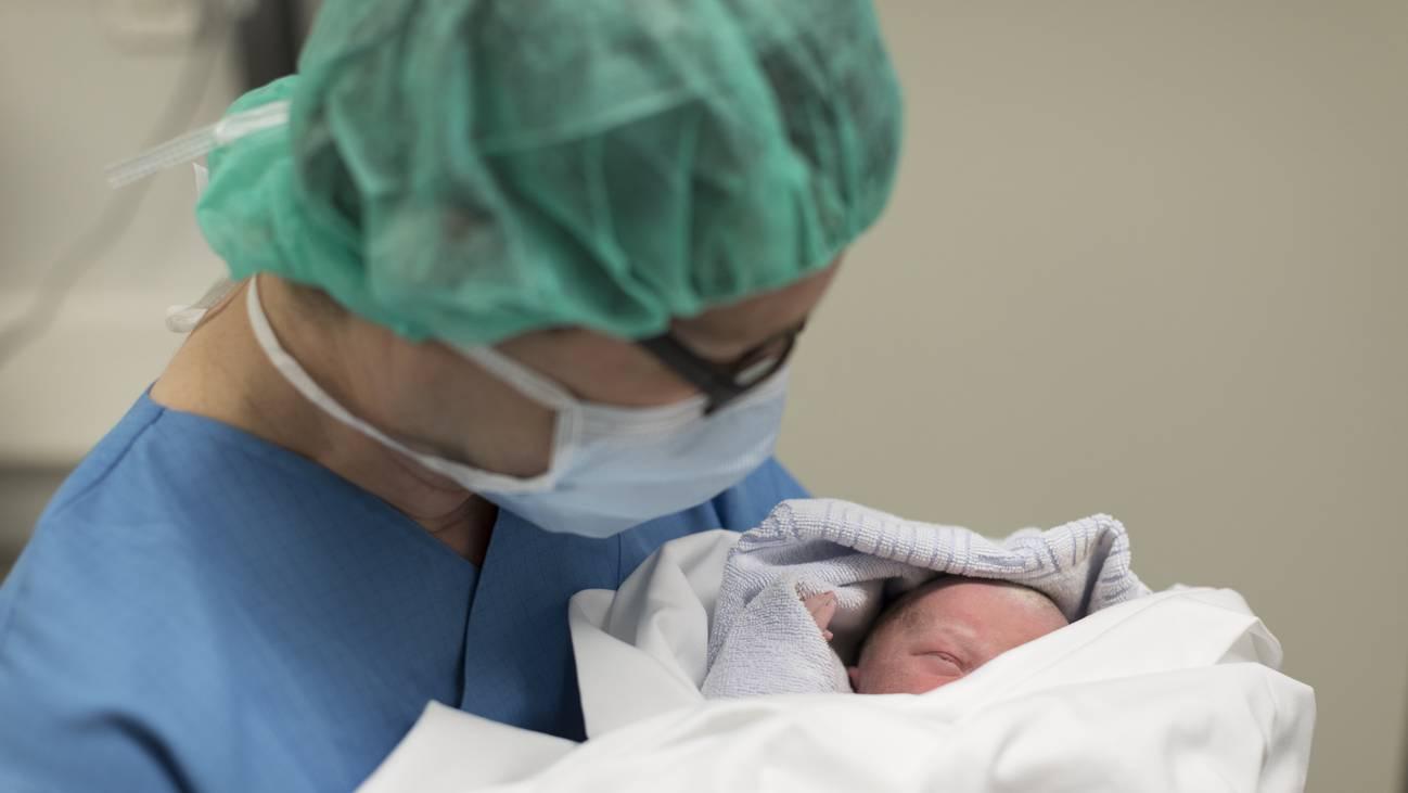 Gynäkologie Baby Geburt