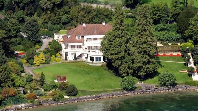 Marc Richs Villa in Meggen. Foto: Niklaus Wächter