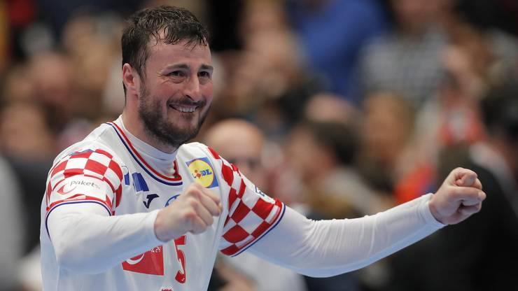 Der Unverzichtbare mit dem feurigen Herzen: Domagoj Duvnjak ist Kroatiens Leaderfigur schlechthin.