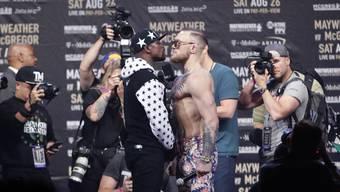 Mayweather gegen Conor McGregor: Das soll der Kampf des Jahres werden