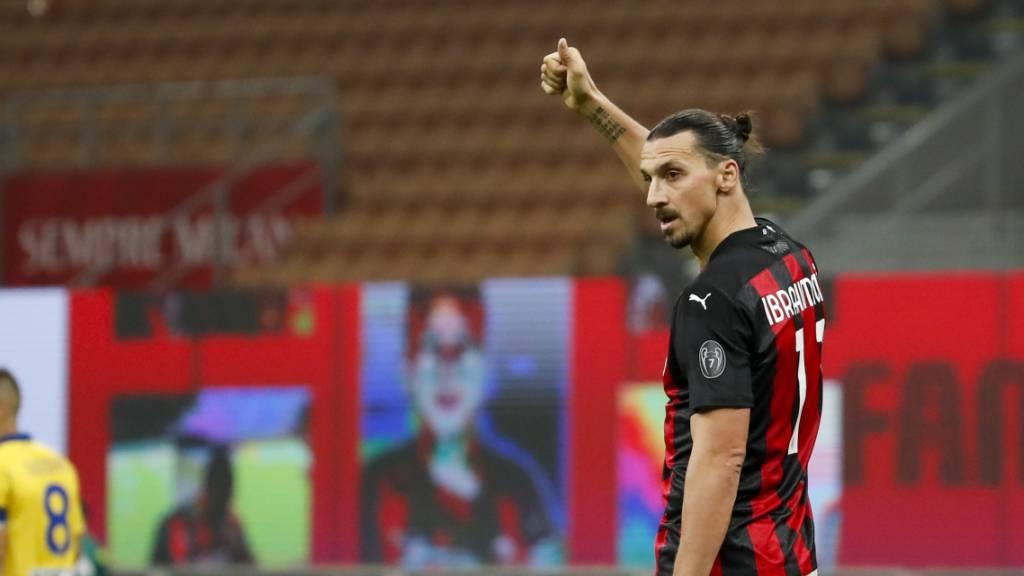 Ibrahimovic rettet Milan die Ungeschlagenheit