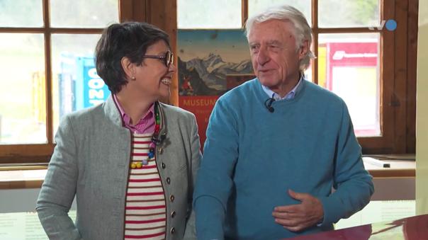 Emil Steinbergers Liebesgeschichte: «Wir haben uns 10 Jahre Briefe geschrieben»