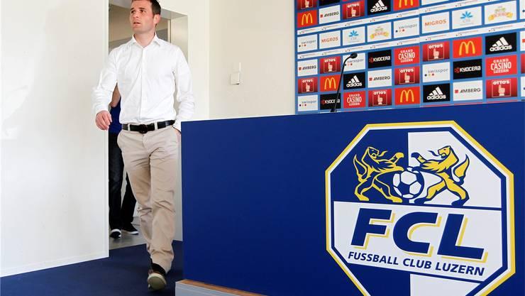 Souveräner erster Auftritt als Luzerner Sportdirektor: Alex Frei.