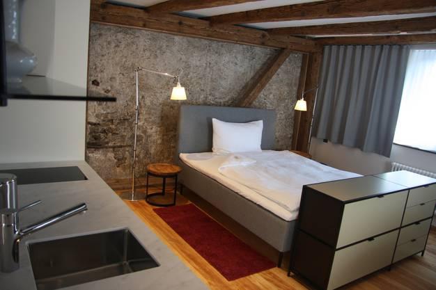 Die Hotelzimmer an der Schmiedengasse sind für Langzeit-Gäste bestimmt.