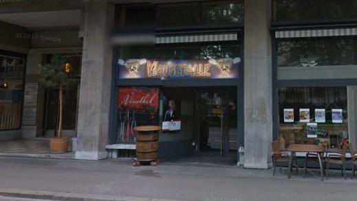 Die Schlägerei ereignete sich in der Herrentoilette des Zürcher Lokals «Mausefalle».
