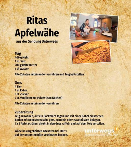 Ritas Apfelwähe