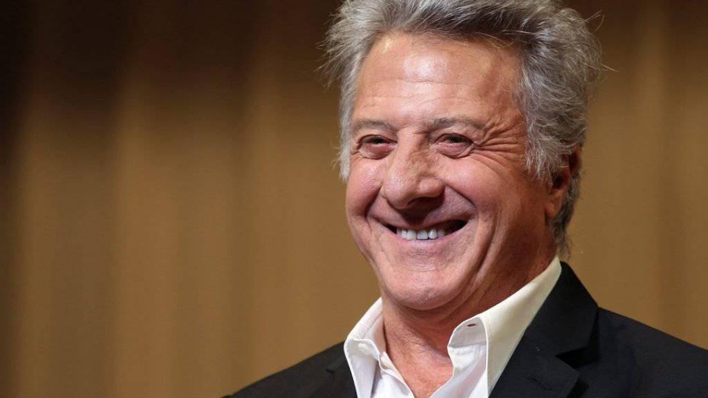 Ist gern ein Senior: Dustin Hoffman (Archiv)