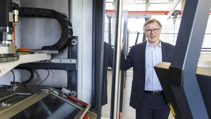 Michael Merkle hat mit der Belegschaft dafür gesorgt, dass die Agathon auch im 100. Firmenjahr im Markt bestehen kann.