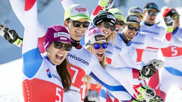 Wendy Holdener, Loïc Meillard, Lara Gut, Michelle Gisin, Daniel Yule, Luca Aerni, Beat Feuz, Patrick Küng und Carlo Janka gehören erwartungsgemäss zum WM-Aufgebot für St. Moritz
