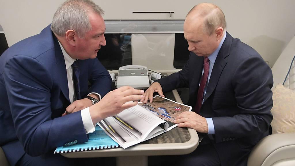 Russlands neuer Weltraumbahnhof soll nächstes Jahr fertig sein