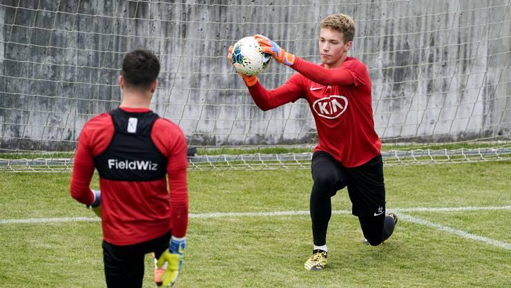 Der FC Baden hat U17-Torhüter Marvin Hübel verpflichtet.