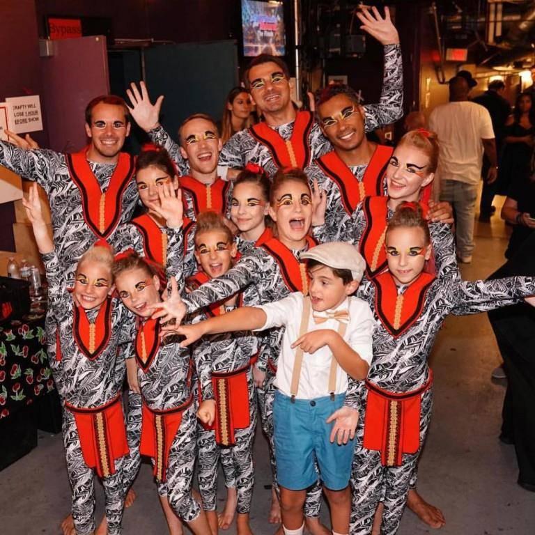 Die Tanz- und Akrobatikgruppe Zurcaroh