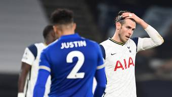 Zum Haareraufen: Tottenham und Gareth Bale blieben gegen Leicester City glücklos.