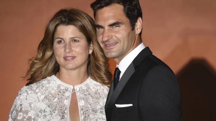 Erst feierten Mirka und Roger Federer beim Champions Dinner in Wimbledon, nun geniessen sie das Dolce Vita auf Sardinien. (Archivbild)