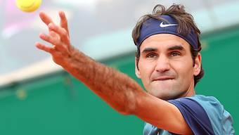 Roger Federer rang Jo-Wilfried Tsonga in drei Sätzen nieder