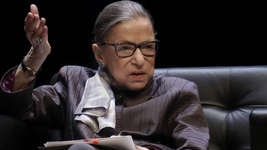 Prominente US-Richterin Ginsburg liegt im Spital