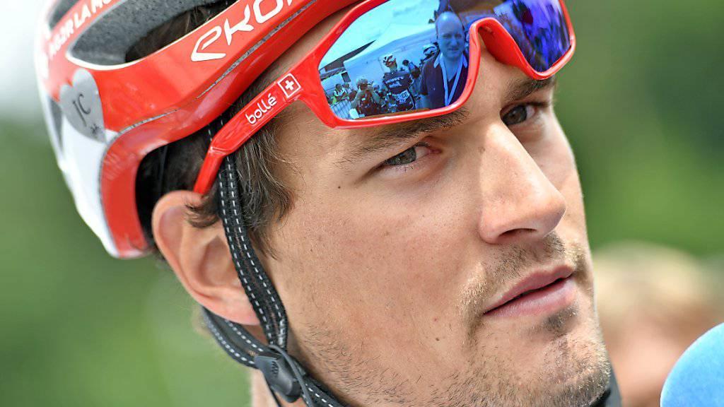Silvan Dillier freut sich auf die 3. Etappe, die in seinen Heimatkanton Aargau führt