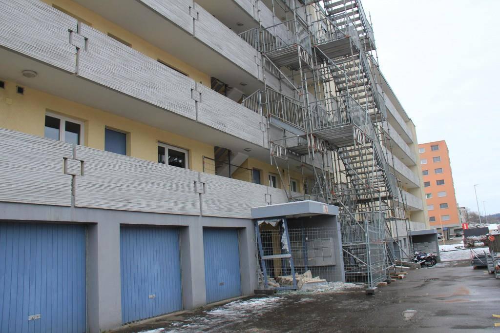 Das Gebäude an der Oberwiesenstrasse 55 (© FM1Today/Stephanie Martina)