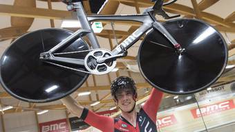 Rohan Dennis hat im Velodrome Suisse den Stundenweltrekord geholt