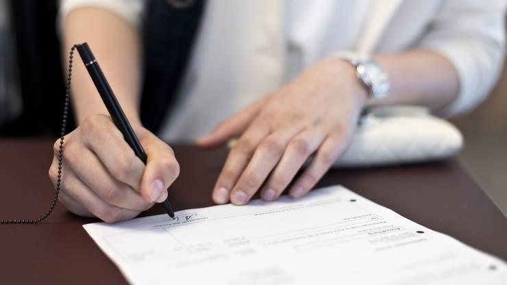 Die Gegner der Steurabkommen konnten nicht genügend Unterschriften sammeln. (Symbolbild)