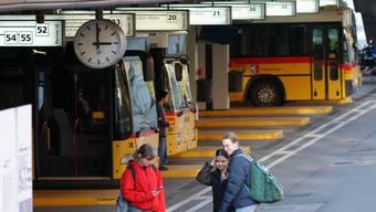 Busbahnhof Baden.