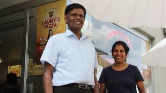 Gunasegaram Annalingam und seine Ehefrau Sasidevi Gunasegaram haben sich an der Hauptstrasse in Brugg einen Traum erfüllt