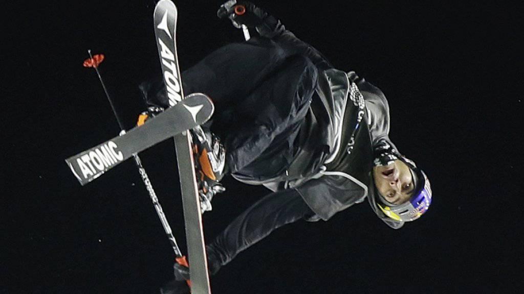 Flog in Mailand erstmals im Weltcup zuoberst auf das Podest: Elias Ambühl