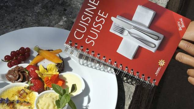Ein Kochbuch von Betty Bossi. (Archiv)