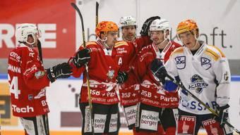 Swiss League, 27. Meisterschaftsspiel: EHC Olten - EVZ Academy, 7.12.2019