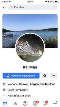 Auf dem Profil teilt «Kai Man» viel Persönliches.
