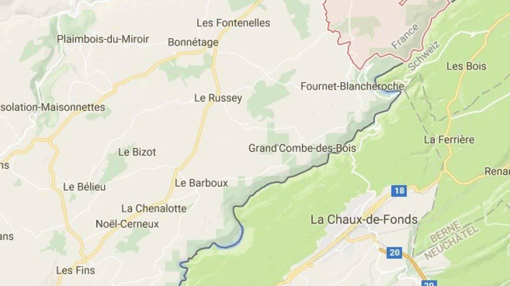 Der Leichnam der Frau wurde zwei Monate nach dem Tötungsdelikt in einem Wald im französischen Grenzgebiet gefunden.