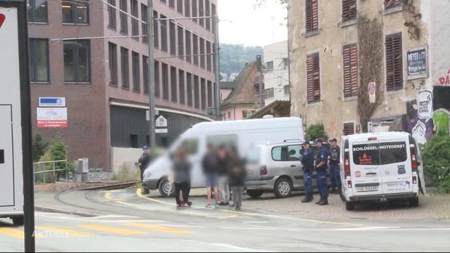 Razzia in Bremgarten nach G20 Krawallen