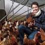 Seit 2015 hält Bäuerin Kathrin Märki ihre Hühnerschar.