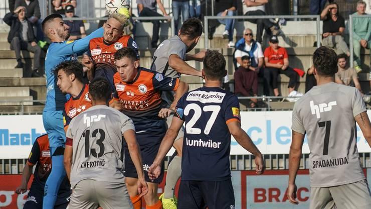 Zum ersten Mal will Aarau in dieser Saison kein Tor gelingen.