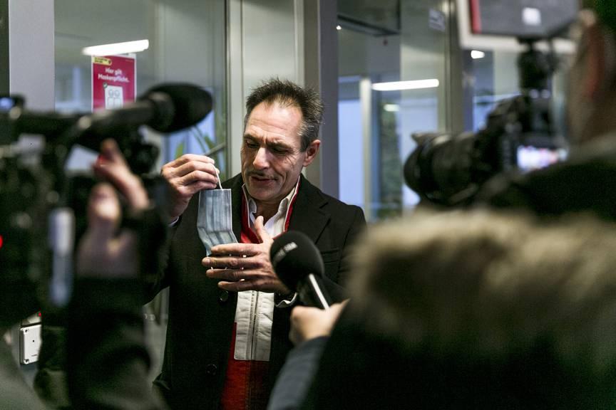 Grosses Medieninteresse am Dienstagmorgen vor dem Aargauer Obergericht.