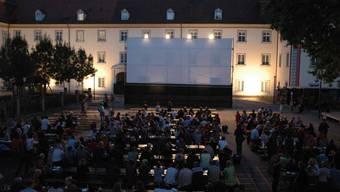 Die Kino-Abende im Klosterdorf sind in der  Regel gut besucht. (Bild: Reto Holzgang)