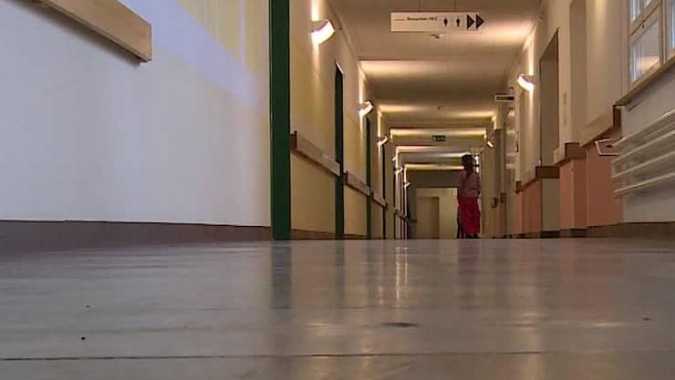 Einblick in die grösste Asylunterkunft des Kantons in Zofingen.
