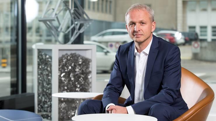 Sulzer-CEO Gregoire Poux-Guillaume: «Der Ölbedarf ist gewachsen. Die Aussichten für uns sind also gut.»