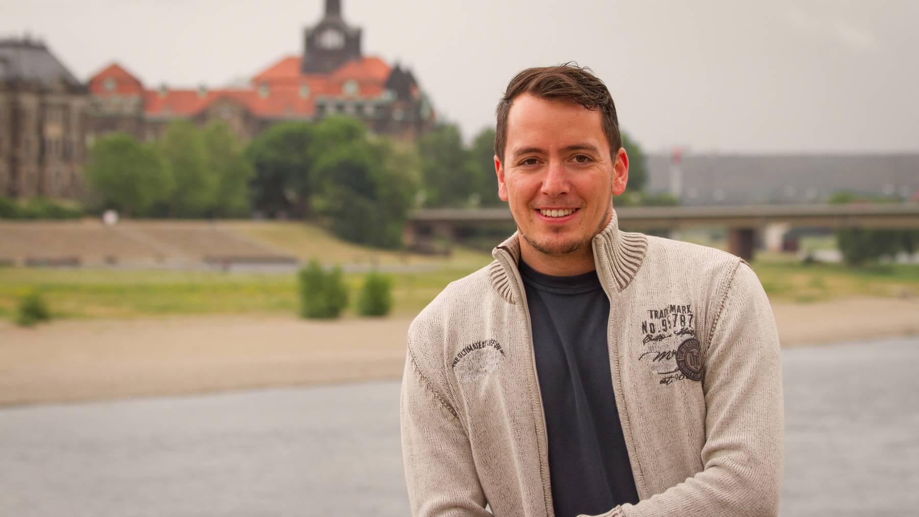 Der St.Galler Ex-Pegida-Aktivist Ignaz Bearth