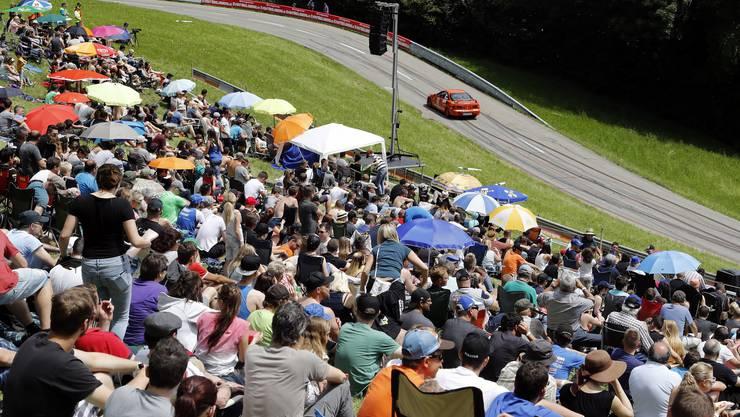 Das Bergrennen Reitnau zog die Motorsport-Fans in ihren Bann