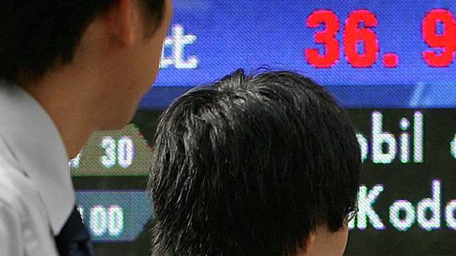 Börse in Tokio schliesst fest