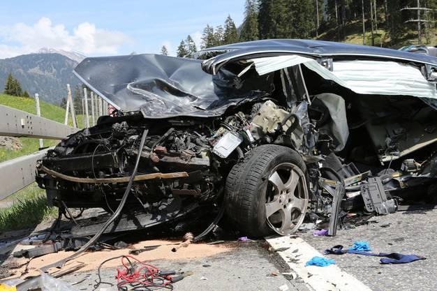 Schwerer Unfall auf der A13