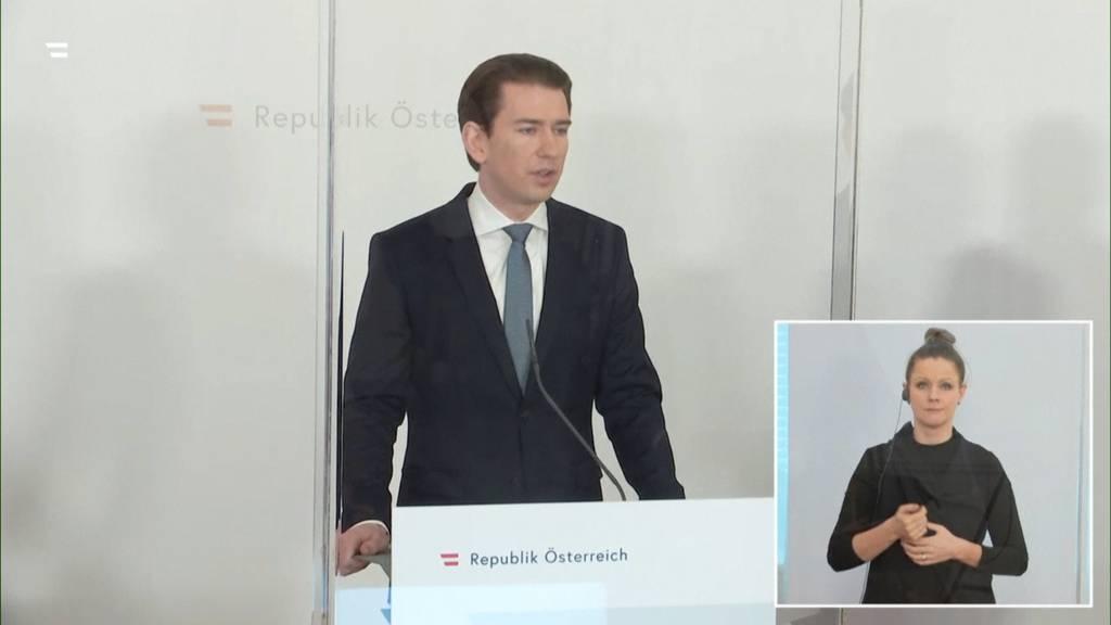 Österreich verlängert Lockdown bis 7. Februar